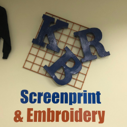 KBR Screenprint Signage that Shines